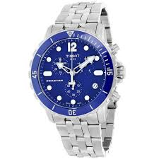stainless steel bracelet tissot images Tissot men 39 s t0664171104700 seastar stainless steel watch with jpg