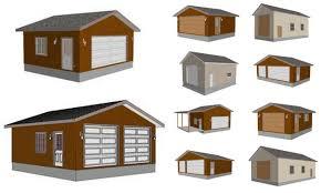 24 x 24 garage plans g518 24 x 24 x 8 garage plans spec sheet 9 plans garage design