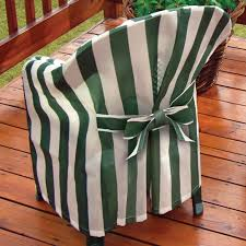 striped patio chair cover with cushion patio chairs walter drake