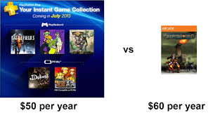 Xbox Live Meme - ps vs xbox live gold in july gaming