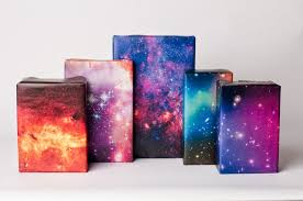 galaxy wrapping paper wrapping paper a cup of jo