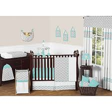 Jojo Crib Bedding Sweet Jojo Designs Zig Zag Chevron Crib Bedding Collection In