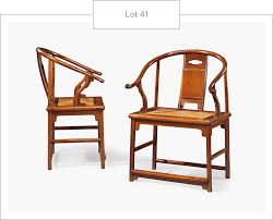 Chinese Armchair Ming Dynasty Furniture From The Ellsworth Collection Christie U0027s