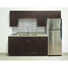 tidysquares chocolate pear shaker kitchen 8 u0027 in law suite kitchen