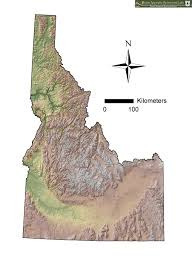 Idaho State Map by Maps Geographic Information System Gis At The Boise Aquatic