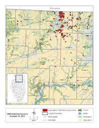 Illinois Map With Counties by Wildlife Directory White Tailed Deer Living With Wildlife