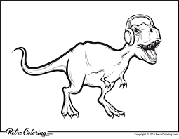 rex dinosaur coloring pages 13 rex dinosaur coloring pages