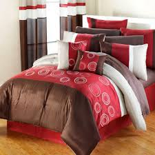 Red And Brown Bedroom Decor Interior Brown And Red Living Room Decoration Theme With Red