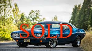 Dodge Challenger Used - 1972 dodge challenger 440 stock 0051 for sale near portland or