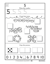 kindergarten preschool math worksheets learning 5 worksheets