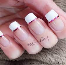 party nail designs party nails french with elegant party simple