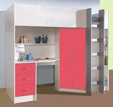 12 little girls u0027 loft bed that combines sleeping and storage top