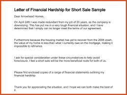 financial hardship letter moa format
