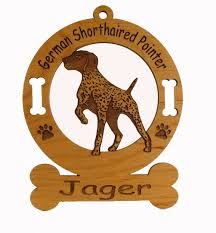 3330 german shorthaired pointer ornament personalized