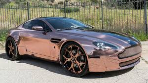 gold chrome bentley dub magazine rose gold aston martin vantage forgiatos