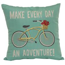 home decor pillows square word pillow make every day an adventure home home
