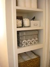 bathroom closet shelving ideas 309 best home linen closet images on organization