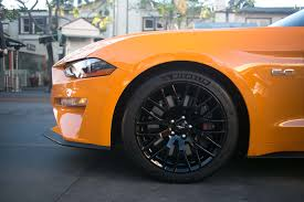 Black And Orange Mustang 2018 Ford Mustang Gt U0027s New Quiet Exhaust Mode Won U0027t Wake The