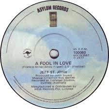 a fool in love 45cat jeff st john a fool in love pamela s song asylum