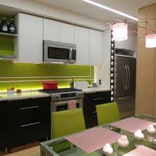 green kitchens with white cabinets modern sleek green kitchen tiles backsplash with black and white