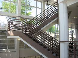 Modern Staircase Design Interior Brown Architectural Design Stair With Discharge Idea