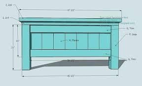 Farmhouse Bed Frame Plans Diy Bed Frame Salmaun Me