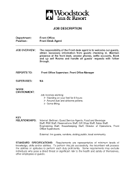 Resume Job Description For Receptionist by Hotel Receptionist Resume Free Resume Example And Writing Download