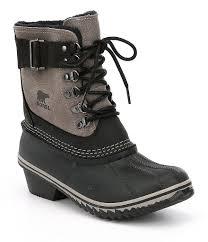 womens boots dillards sorel womens winter fancy lace ii waterproof boots dillards