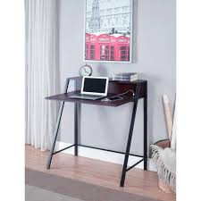 Secretary Desks For Small Spaces by Mainstays 2 Tier Writing Desk Multiple Finishes Walmart Com