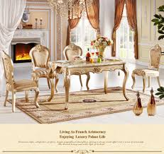 Slab Dining Room Table 0111 Io Furniture Champagne Gold Solid Wood Dining Room Furniture