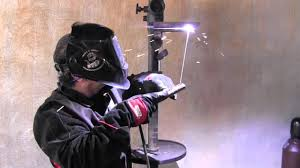 stick welding tips for a 4g overhead weld test youtube