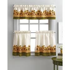 Kitchen Window Curtains Fruit Print Kitchen Curtains Wayfair