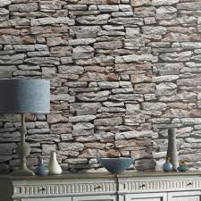 exposed brick wallpaper this house is available to hire as a