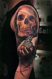 Amazing Skull - amazing skull tattoos by igoryoshi
