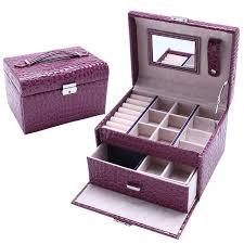 jewelry box necklace organizer images Storage box makeup organizer jewelry box storage joyeria jpg