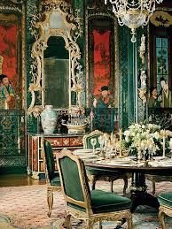 Chinoiserie Dining Room by Modern Chinoiserie In Interior Design