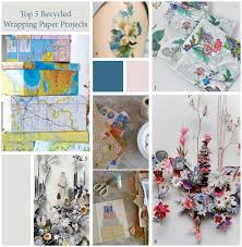 recycled wrapping paper top 5 recycled wrapping paper projects georgie st clair design