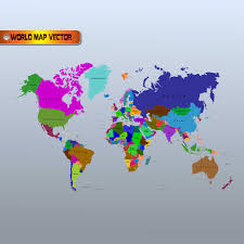 Free Vector World Map by Free World Map Vector Download Designs Collection