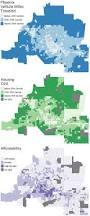 Phoenix Neighborhood Map by Car Dependence And Neighborhood Affordability U2013 Ugec Viewpoints
