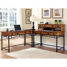 Corner L Desk Modern Craftsman Corner L Desk Walmart