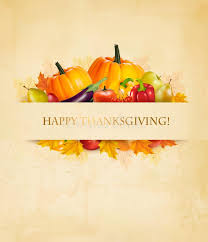 retro happy thanksgiving background stock vector image 79889549