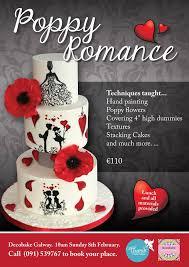 poppy romance class booking through decobake galway cherub