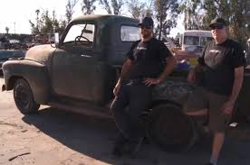 lexus junkyard los angeles 1950 gmc truck rescued from junkyard in new roadkill motor trend wot