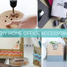 Handmade Home Decor Projects Roundup 11 Diy Home Office Decor Accessories Projects Free