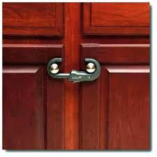 Child Proofing Cabinet Doors Kitchen Cabinet Door Locks Awe Inspiring Kitchen Cabinet Locks
