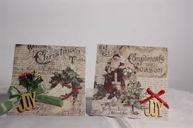 vintage christmas card ideas christmas lights decoration