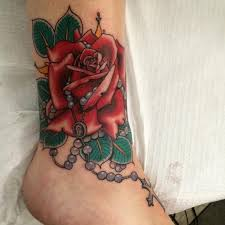 rosary tattoos designs and meaning of rosary beads