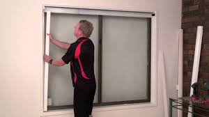 how to install a cassette roller blind with channels youtube