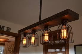 pendant lighting for kitchen islands west ninth vintage wood 4 light kitchen island pendant