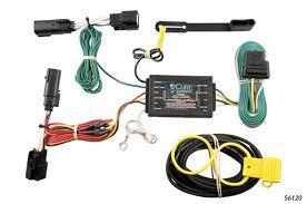 ford edge 2011 2014 wiring kit harness curt mfg 56120
